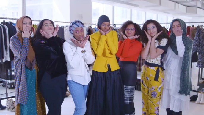 Allure Magazine with Halima Aden