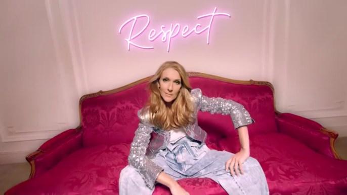 Celine Dion for L'Oréal Paris Excellence Campaign